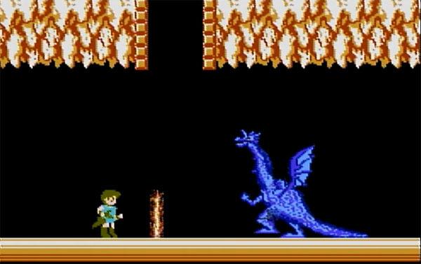 ドラゴンにはランプが効果的